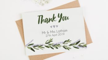 Thank You Cards. Thank You Card Wording Ideas for Guests Who Didn't Attend