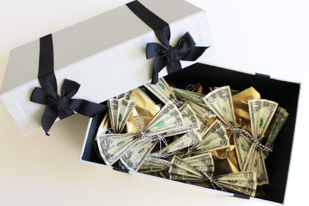 how to ask for money instead of wedding gifts