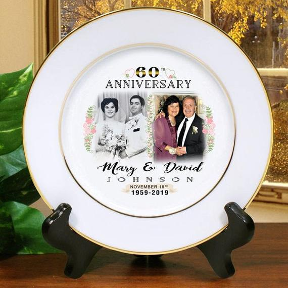 60th wedding anniversary gifts traditional