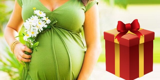 mother's day gift for pregnant wife